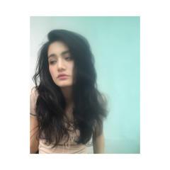 外国人風 グラデーションカラー ロング パーマ ヘアスタイルや髪型の写真・画像