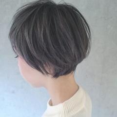 グレー 外国人風 外国人風カラー フェミニン ヘアスタイルや髪型の写真・画像