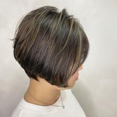 ストリート ショート ミニボブ ショートヘア ヘアスタイルや髪型の写真・画像