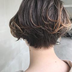 抜け感 ショートボブ モード ミニボブ ヘアスタイルや髪型の写真・画像