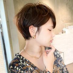 ショートヘア ショート エレガント ショートボブ ヘアスタイルや髪型の写真・画像