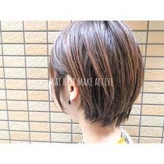 外国人風カラー 簡単ヘアアレンジ ナチュラル ベージュ ヘアスタイルや髪型の写真・画像