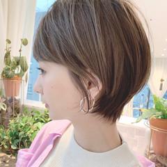 大人可愛い ナチュラル可愛い ショート ナチュラル ヘアスタイルや髪型の写真・画像