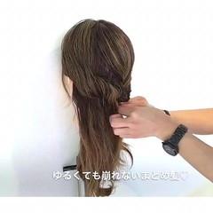 女子会 ルーズ ナチュラル デート ヘアスタイルや髪型の写真・画像