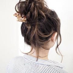 デート 女子会 二次会 ヘアアレンジ ヘアスタイルや髪型の写真・画像