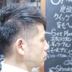 メンズ ボブ ベリーショート ストリート ヘアスタイルや髪型の写真・画像