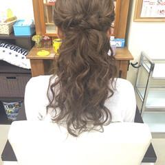 ルーズ ヘアアレンジ ロング エクステ ヘアスタイルや髪型の写真・画像