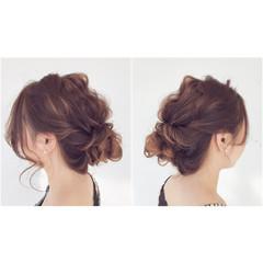 大人かわいい ヘアアレンジ 外国人風 フェミニン ヘアスタイルや髪型の写真・画像