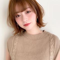 デジタルパーマ アンニュイほつれヘア モテ髪 大人可愛い ヘアスタイルや髪型の写真・画像