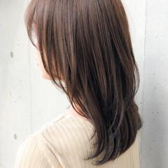 愛され ナチュラル セミロング 大人可愛い ヘアスタイルや髪型の写真・画像