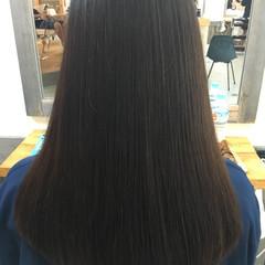 アッシュ ナチュラル トリートメント 黒髪 ヘアスタイルや髪型の写真・画像