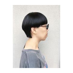 ショート モード 個性的 マッシュ ヘアスタイルや髪型の写真・画像