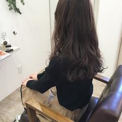 ロング 外国人風カラー アッシュ ナチュラル ヘアスタイルや髪型の写真・画像