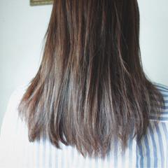 秋 ブラウン 大人かわいい 白髪染め ヘアスタイルや髪型の写真・画像