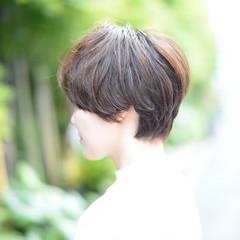 モード パーマ 外国人風 ショート ヘアスタイルや髪型の写真・画像
