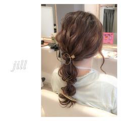 マジェステ ヘアアクセ ショート 簡単ヘアアレンジ ヘアスタイルや髪型の写真・画像