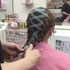 ツインテール ガーリー 編み込み 簡単ヘアアレンジ ヘアスタイルや髪型の写真・画像
