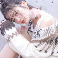 おフェロ デート ヘアアレンジ フェミニン ヘアスタイルや髪型の写真・画像
