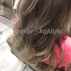 ハイライト ヘアアレンジ 外国人風 ロング ヘアスタイルや髪型の写真・画像