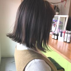 外国人風カラー アンニュイ ナチュラル 切りっぱなし ヘアスタイルや髪型の写真・画像