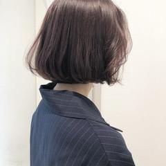 切りっぱなし フェミニン タンバルモリ 大人女子 ヘアスタイルや髪型の写真・画像