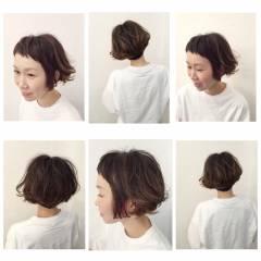 ショート ショートボブ ストリート ショートバング ヘアスタイルや髪型の写真・画像