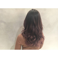バレイヤージュ ハイライト エレガント 上品 ヘアスタイルや髪型の写真・画像