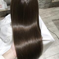 ロング フェミニン 暗髪 黒髪 ヘアスタイルや髪型の写真・画像