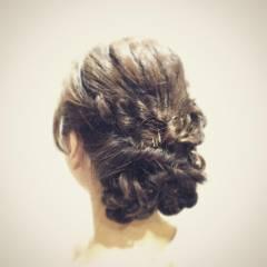 ヘアアレンジ ナチュラル フェミニン モテ髪 ヘアスタイルや髪型の写真・画像