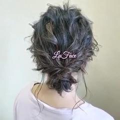 お呼ばれ シニヨン ヘアアレンジ 大人かわいい ヘアスタイルや髪型の写真・画像