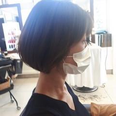 ミニボブ ショートヘア ボブ ショートボブ ヘアスタイルや髪型の写真・画像