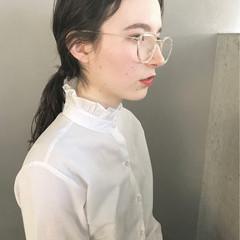 モード 簡単ヘアアレンジ まとめ髪 ショート ヘアスタイルや髪型の写真・画像
