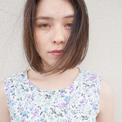 大人女子 ボブ パーマ 縮毛矯正 ヘアスタイルや髪型の写真・画像