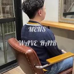 メンズパーマ パーマ ショートヘア ショート ヘアスタイルや髪型の写真・画像