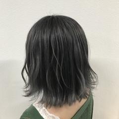 透明感 ダブルカラー 外国人風 グレージュ ヘアスタイルや髪型の写真・画像