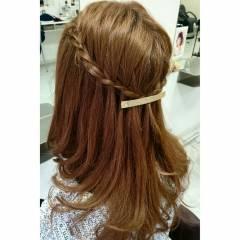 大人かわいい ゆるふわ ヘアアレンジ ロング ヘアスタイルや髪型の写真・画像