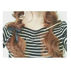 ゆるふわ ショート フェミニン 簡単ヘアアレンジ ヘアスタイルや髪型の写真・画像