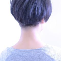 マッシュ ショート 大人女子 外国人風 ヘアスタイルや髪型の写真・画像