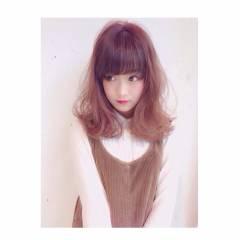 ゆるふわ フェミニン 外国人風 ガーリー ヘアスタイルや髪型の写真・画像