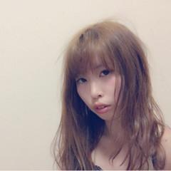 ロング ナチュラル ゆるふわ ピュア ヘアスタイルや髪型の写真・画像