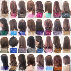 インナーカラー 透明感カラー 外国人風カラー ヘアカラー ヘアスタイルや髪型の写真・画像