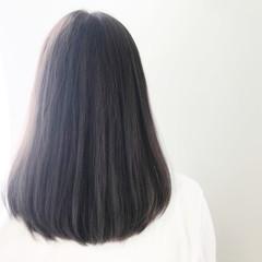 ミディアム 女子力 コンサバ ダブルカラー ヘアスタイルや髪型の写真・画像