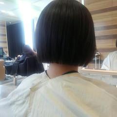 アッシュ 秋 透明感 前髪あり ヘアスタイルや髪型の写真・画像