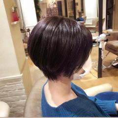 ショート ショートボブ ハンサムショート 40代 ヘアスタイルや髪型の写真・画像