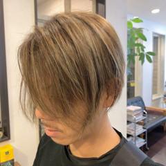 ハイライト 大人ハイライト イルミナカラー メンズスタイル ヘアスタイルや髪型の写真・画像