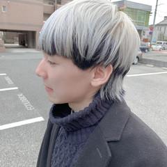 ホワイトブリーチ アッシュグレージュ ブリーチカラー ショート ヘアスタイルや髪型の写真・画像