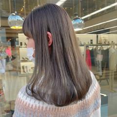 ナチュラル ロング 透明感 透明感カラー ヘアスタイルや髪型の写真・画像