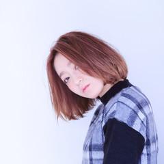 かわいい 外国人風 愛され ストレート ヘアスタイルや髪型の写真・画像