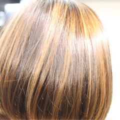 ストリート グラデーションカラー ハイライト ボブ ヘアスタイルや髪型の写真・画像