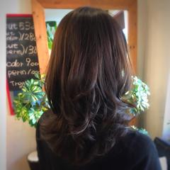 エレガント ロング 上品 艶髪 ヘアスタイルや髪型の写真・画像